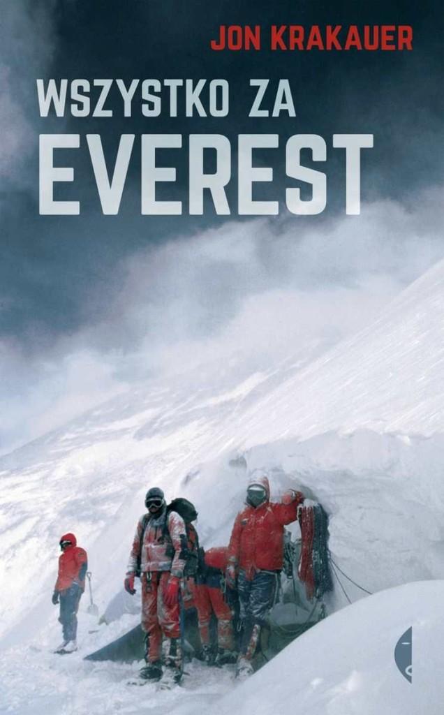 "Book Cover: ""Wszystko za Everest"""
