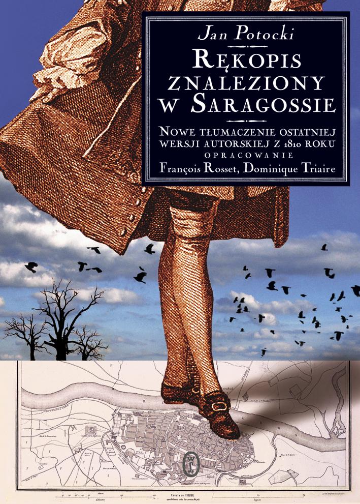 """Book Cover: """"Rękopis znaleziony w Saragossie"""""""