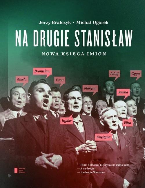"Book Cover: ""Na drugie Stanisław"""