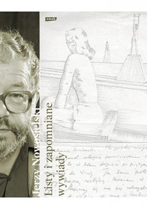 """Book Cover: """"Jerzy Nowosielski. Listy i zapomniane wywiady"""""""