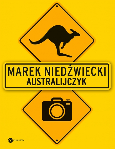 "Book Cover: ""Australijczyk"""