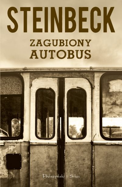 "Book Cover: ""Zagubiony autobus"""