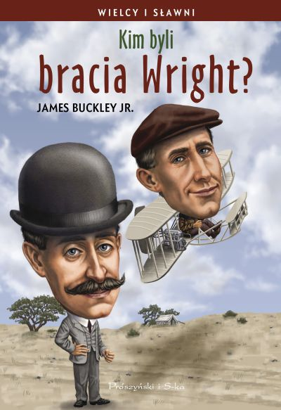 "Book Cover: ""Kim byli bracia Wright?"""