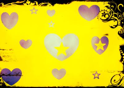 Serduszka i gwiazdki
