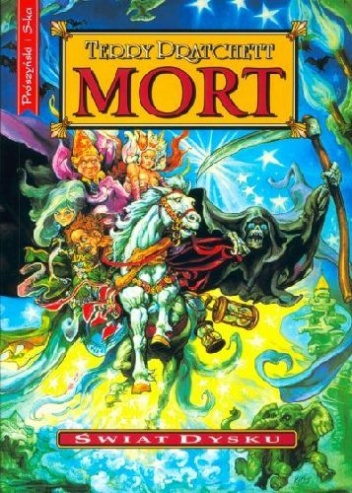 "Book Cover: ""Mort"""