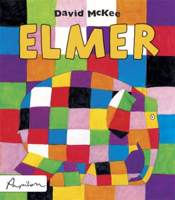 "Book Cover: ""Elmer"" David McKee"