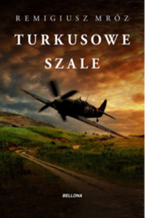 "Book Cover: ""Turkusowe szale"""