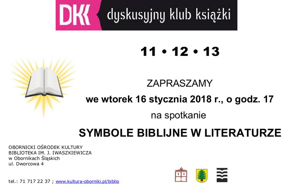 Zapraszamy na spotkanie w Dyskusyjnym Klubie Książki