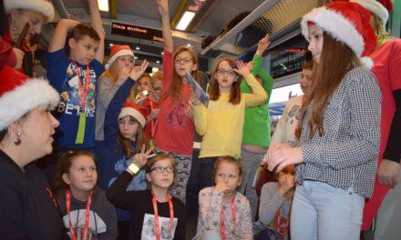 Mikołajkowy odjazd (w najnowszym pociągu)